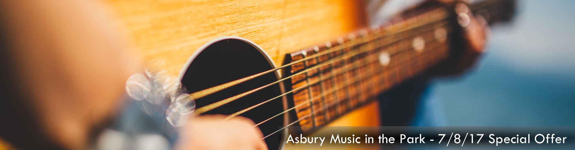 Asbury Music the Park Special Offer